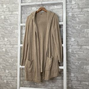 Barefoot Dreams Coastal Hooded Cardigan Size L/XL